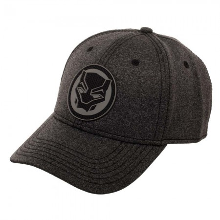 Black Panther Logo Flex Fit Hat