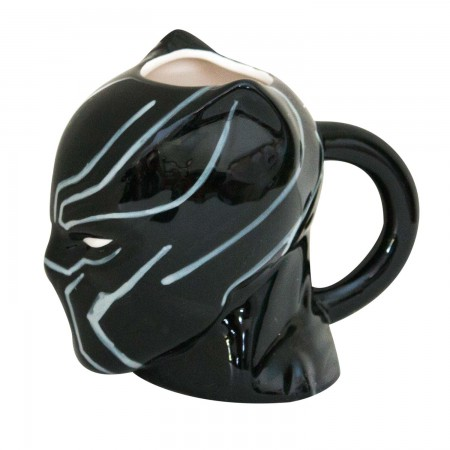 Black Panther Molded Coffee Mug
