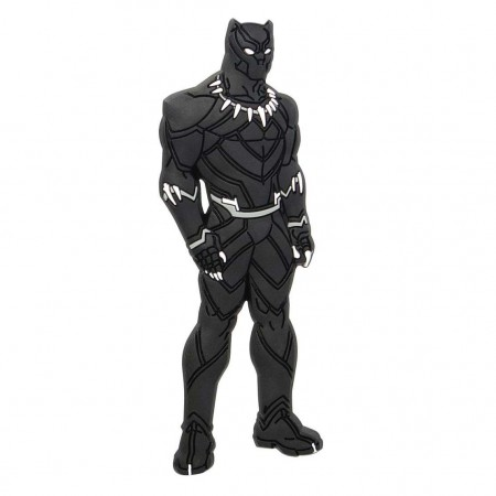 Black Panther Rubber Mega Magnet