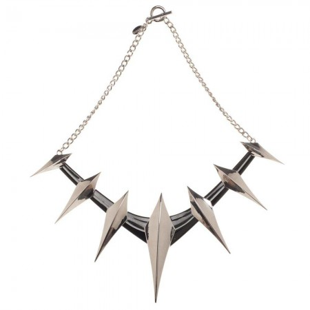 Black Panther Costume Spike Collar Necklace
