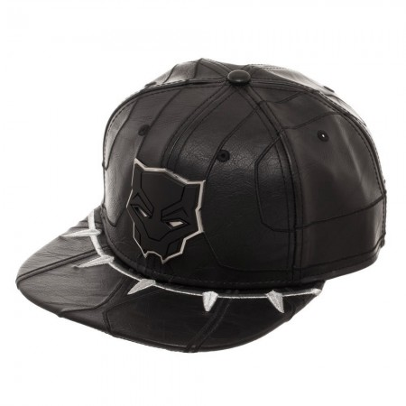 Black Panther Black Suit Up Snapback Hat