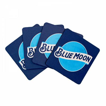 Blue Moon Neoprene Coasters