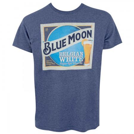Blue Moon Belgian White Label Men's Blue T-Shirt