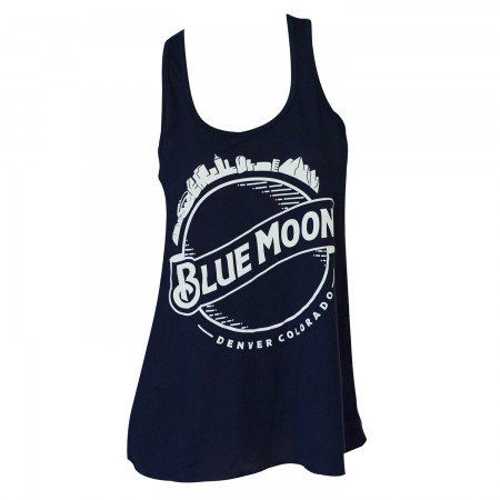 Blue Moon Women's Midnight Round Logo Tank Top