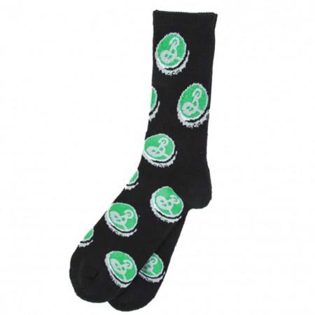 Brooklyn Brewery Men's Black Crew Socks