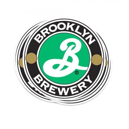 "Brooklyn Brewery 4"" Vinyl Sticker"