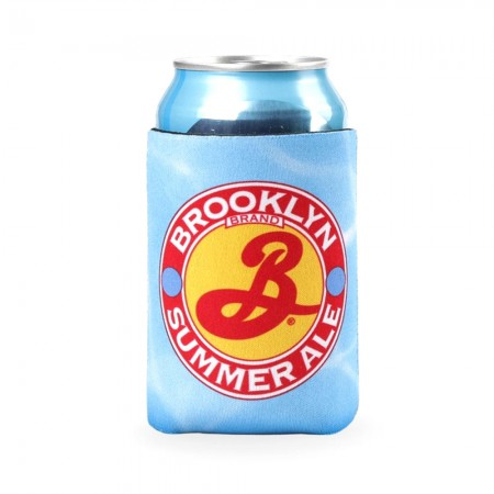 Brooklyn Brewery Summer Ale Light Blue Can Hugger