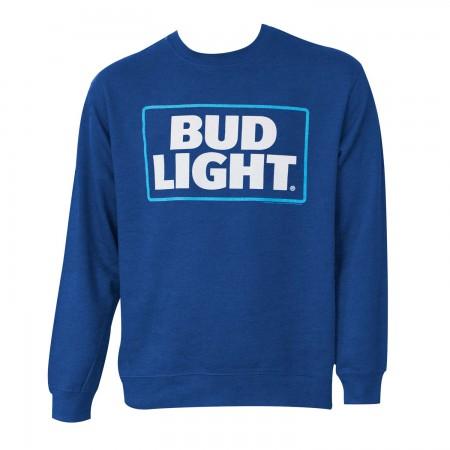Bud Light Crewneck Navy Sweatshirt