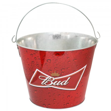 Budweiser Red Bud Ice Bucket