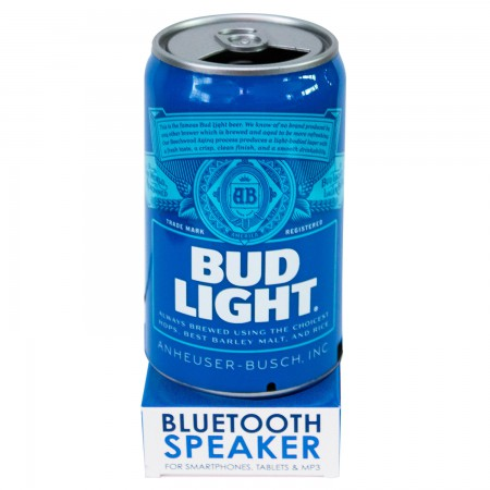 Bud Light Can Portable Bluetooth Speaker
