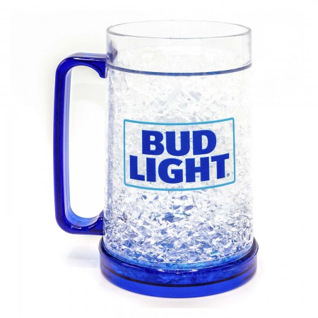 Bud Light 16oz Freezable Beer Mug Stein