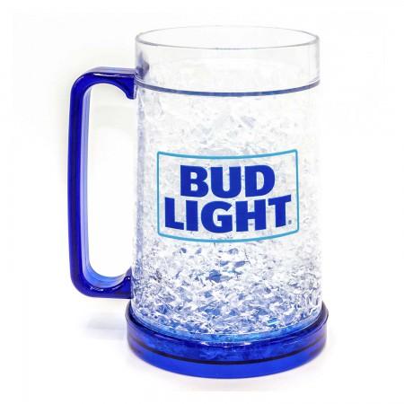 Bud Light 16oz Freezable Beer Mug Stein