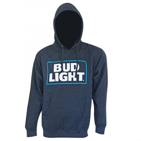 Bud Light Navy Blue Logo Hoodie
