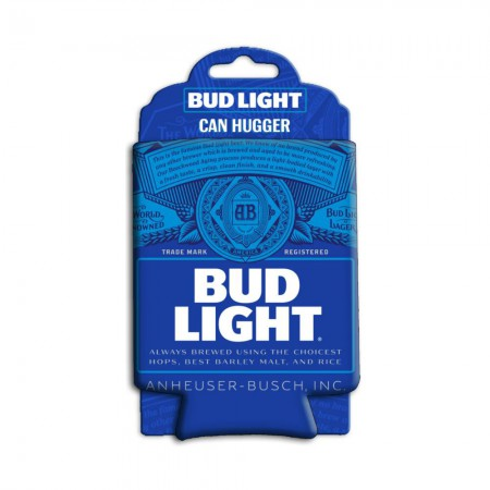 Bud Light Blue Can Hugger