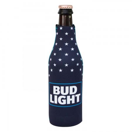 Bud Light Stars Bottle Cooler