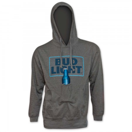 Bud Light Beer Pouch Hoodie