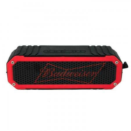Budweiser Black & Red Rugged Bluetooth Speaker