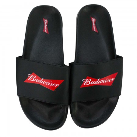 Budweiser Soccer Slides Men's Sandals