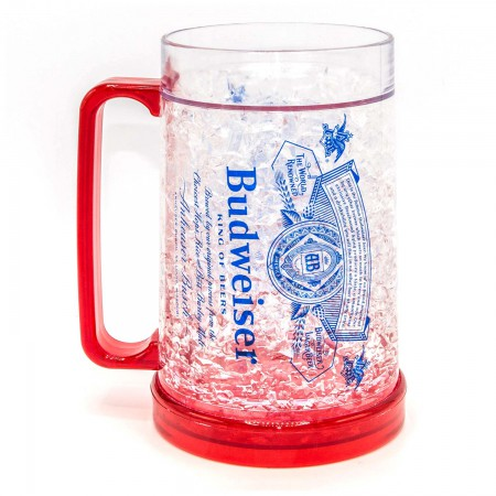 Budweiser Freezable Beer Stein 16 Ounces