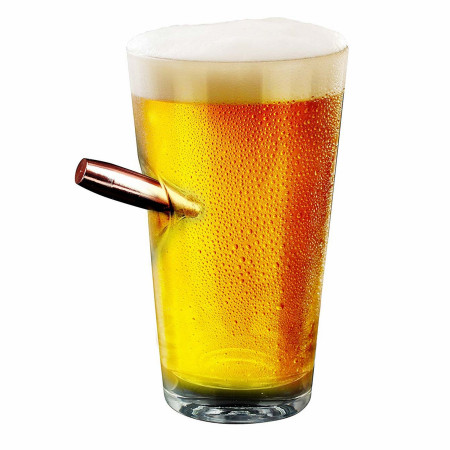 Last Man Standing Bulletproof Pint Glass