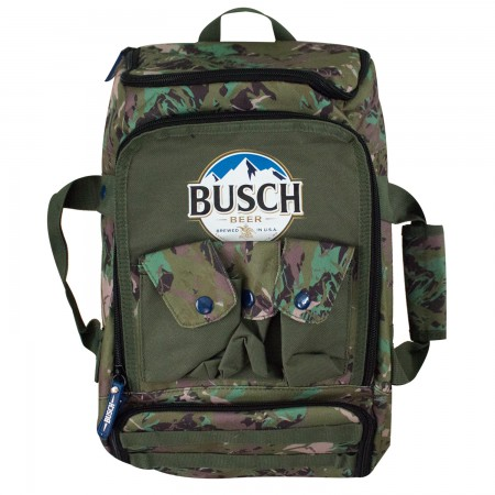 Busch Camouflage Duffel Backpack