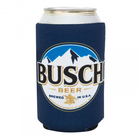 Busch Beer Navy Blue Buscchhhhh Can Insulator