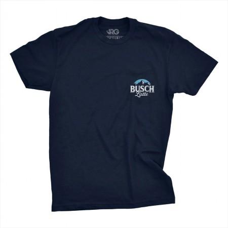 Busch Latte Dark Navy Pocket Tee Shirt