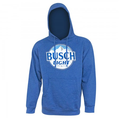 Busch Light Logo Men's Royal Blue Hoodie