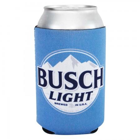 Busch Light Logo Neoprene Can Cooler