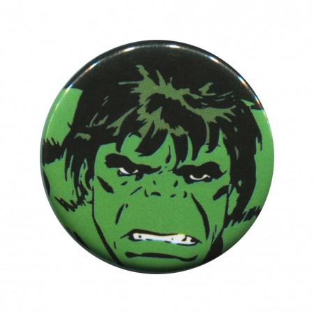 Hulk Face Button