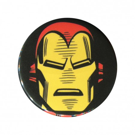 Iron Man Face Button