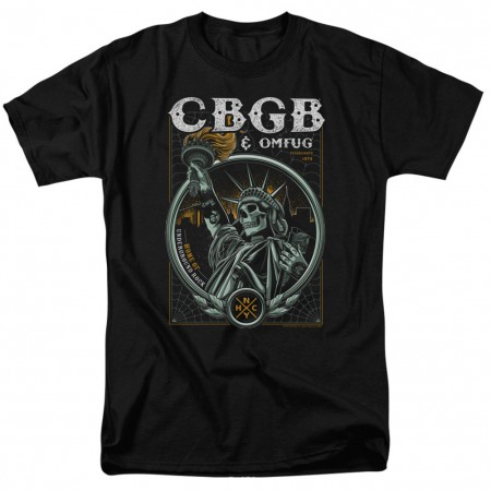 CBGB Statue of Liberty Tshirt