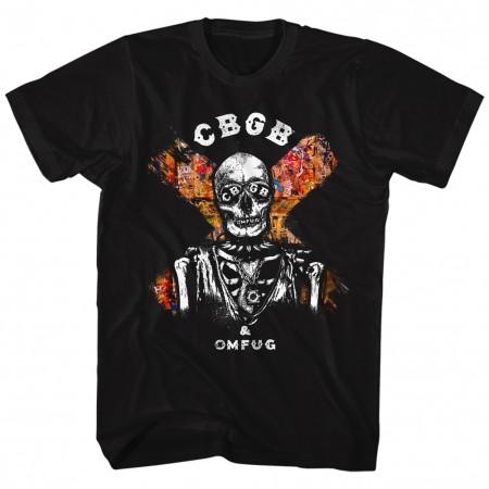 CBGB X Marks the Spot Black Tshirt