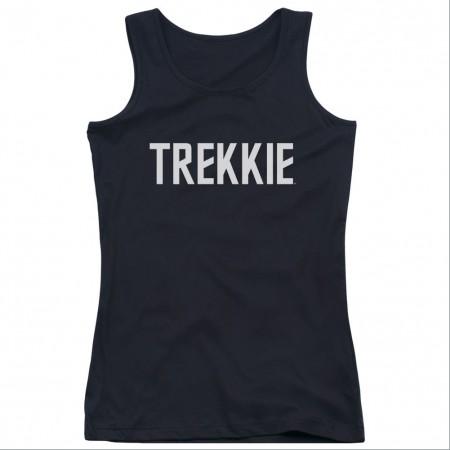 Star Trek Trekkie Black Juniors Tank Top