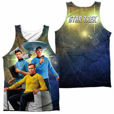 Star Trek Kirk Spock Mccoy Sublimation Tank Top