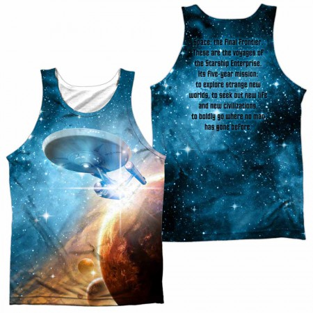 Star Trek Final Frontier Sublimation Tank Top