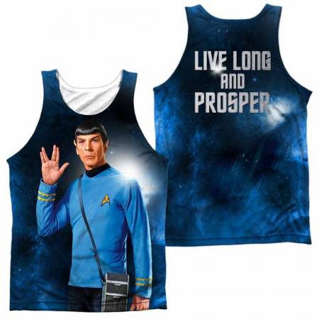 Star Trek Live Long Sublimation Tank Top