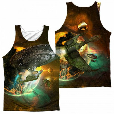 Star Trek Battle Ships Sublimation Tank Top