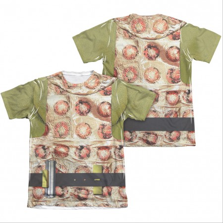 Star Trek TOS Gorn Uniform Two-Sided Costume Sublimation T-Shirt