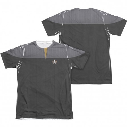 Star Trek TNG Movie Engineering Two-Sided Costume Sublimation T-Shirt