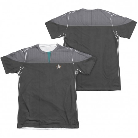 Star Trek TNG Movie Science Two-Sided Costume Sublimation T-Shirt