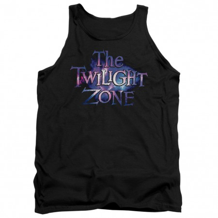 Twilight Zone Twilight Galaxy Black Tank Top