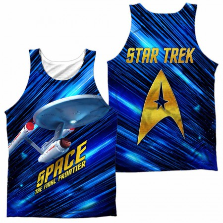 Star Trek Space Frontier Sublimation Tank Top