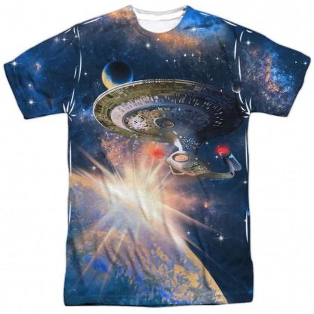Star Trek Next Generation Enterprise Tshirt