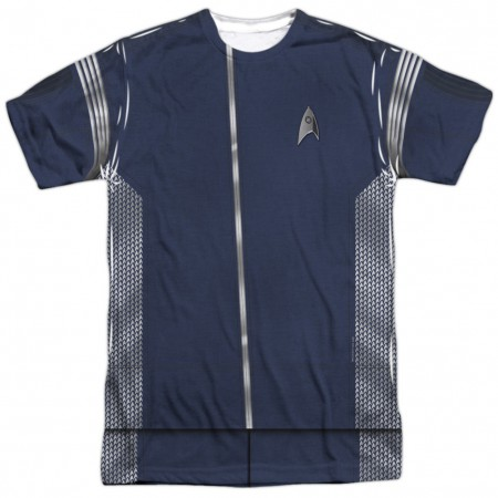 Star Trek Science Uniform Costume Tee