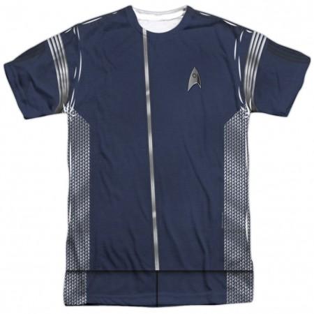 Star Trek Science Uniform Costume Tee