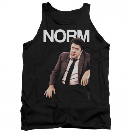 Cheers Norm Black Tank Top