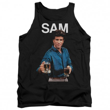 Cheers Sam Black Tank Top