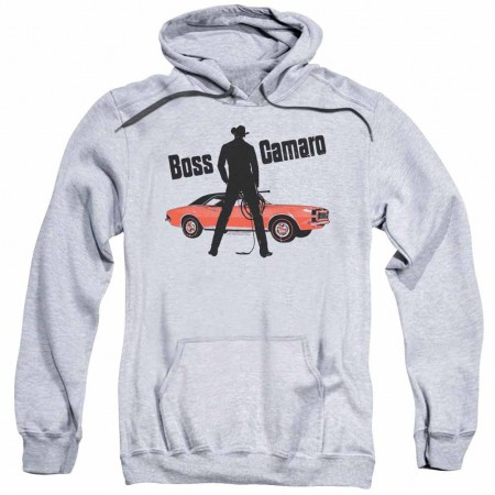 Chevy Boss Gray Pullover Hoodie}