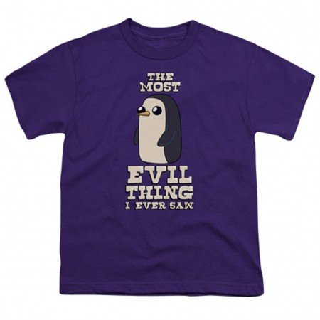Adventure Time The Most Evil Thing Youth Tshirt